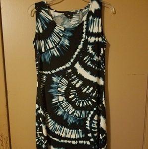 Tribal Ladies Midi Dress Sleeveless (M)